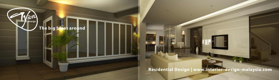 Terrace house pj tyion for Indoor design malaysia