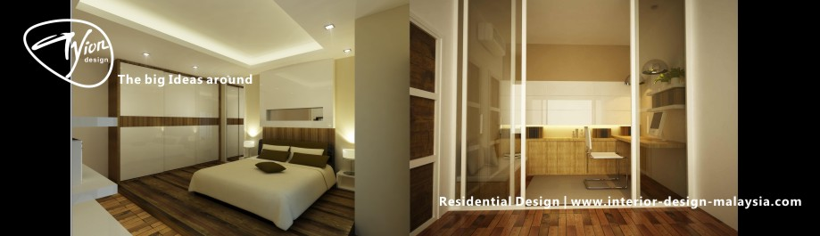 Malaysia interior design residential interior design Interior design idea for semi d house